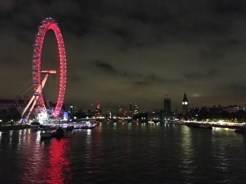 Tranquility in Metropolis - London At Night